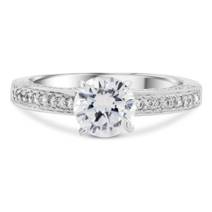 0.005 ct t.w. Engagement Ring