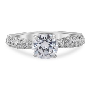 0.013 ct t.w. Engagement Ring