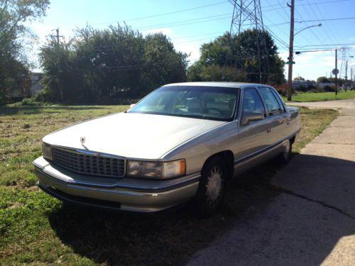 Buy Used 1996 Cadillac DeVille Base Sedan 4-Door 4.6L