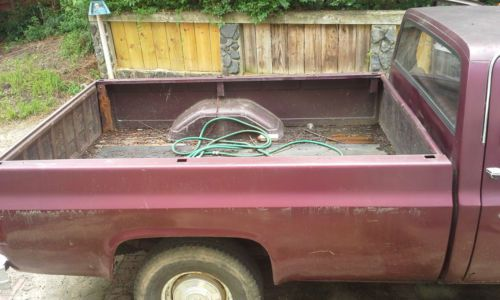 Find Used 1982 Chevy C-20 Custom Deluxe Pick Up Truck, Low