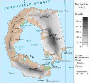 Deception Island Map