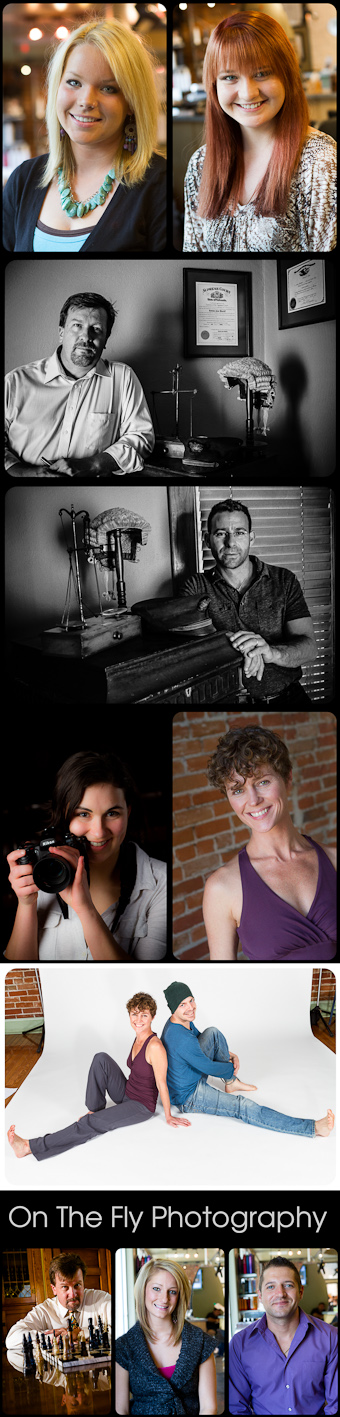 Professional Head Shots from On The Fly Photography