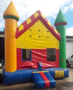 15candy land castle bounce house