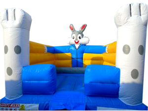 13Funny Bunny bounce house front
