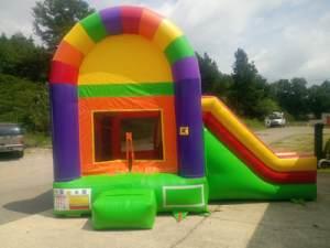 31Over The Rainbow Bounce House combo