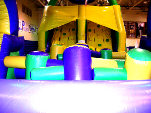 13Green Thing 55 foot Obstacle Course