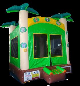 21Tropical Island Bounce House