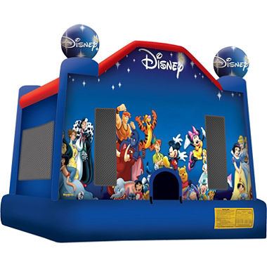 9World of Disney bounce house