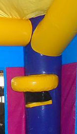 22Purple Passion Bounce House basketball goal