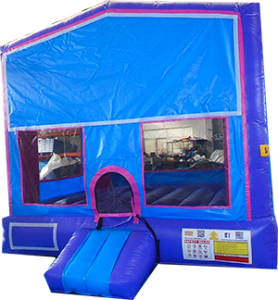 10Blue Play house Bounce House