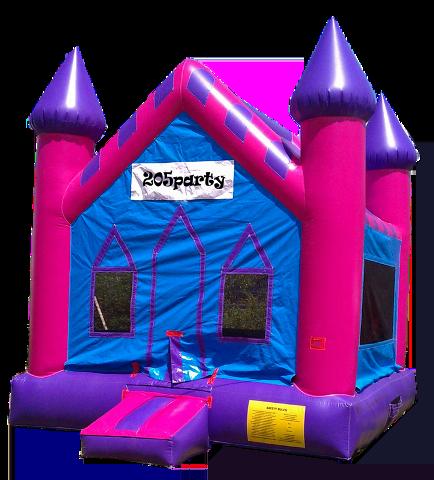 10Princess Castle Bounce House