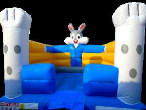 9Funny Bunny bounce house moonwalk