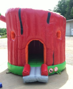3Secret Tree house bounce house front