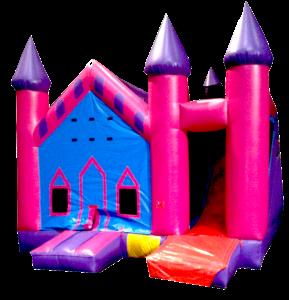 10Princess Palace Bounce House combo