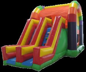 30Over The Rainbow Bounce House combo