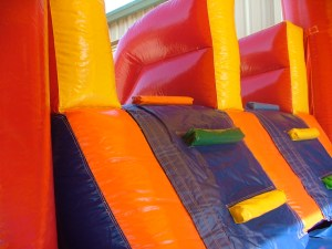 4Super Double Jumpy Jump bounce house combo