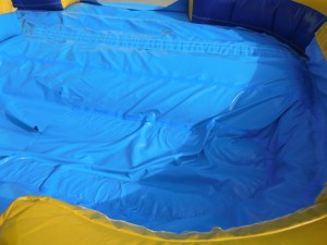 7Deep Blue wet dry slide