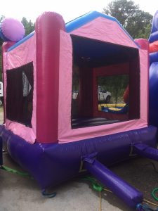14Disney Princess bounce house moonwalk