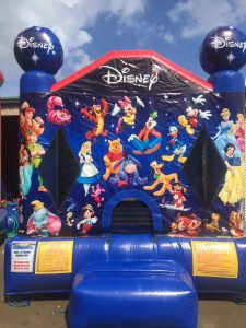 4World of Disney bounce house moonwalk