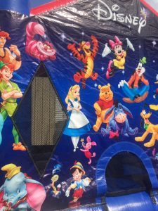 2World of Disney bounce house moonwalk