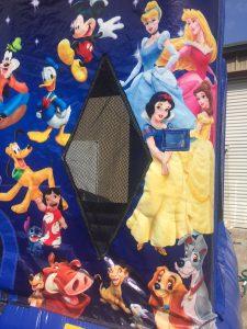9World of Disney bounce house moonwalk