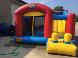 7Blast Zone Preschool Bounce House combo