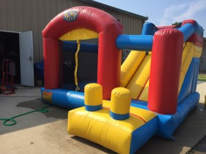 6Blast Zone Preschool Bounce House combo