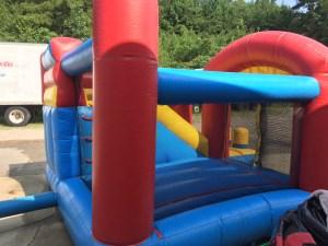 1Blast Zone Preschool Bounce House combo
