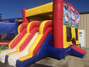 8Super Double Jumpy Jump bounce house combo