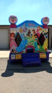 7Disney Princess bounce house moonwalk