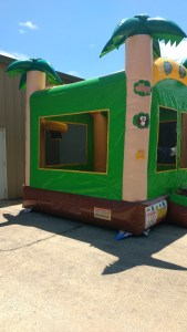 10Tropical Island bounce house combo