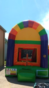 24Over the Rainbow bounce house combo