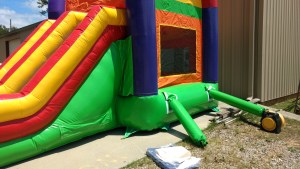 17Over the Rainbow bounce house combo