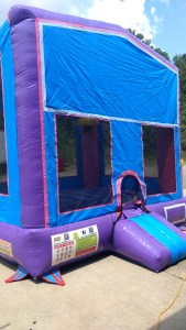 7Blue Play House Bounce House moonwalk