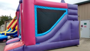 6Princess Palace bounce house combo