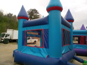 14Blue Sky moonwalk bounce house combo