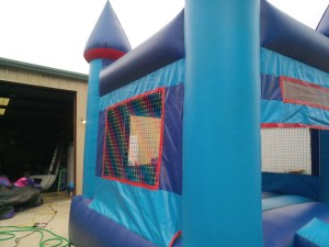 11Blue Sky moonwalk bounce house combo