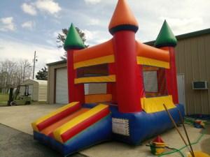 8Royal Castle Bounce House combo