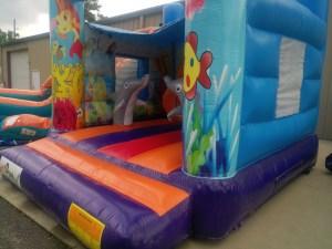 3Marino Aquarium bounce house
