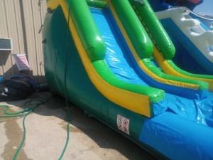 12Paradise Plunge Wet Dry slide