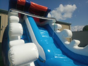 Tidal Wave Wet Dry slide