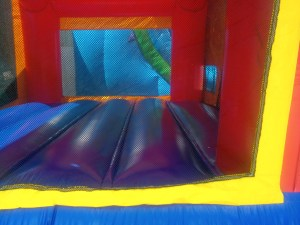 1Justice League bounce house moonwalk