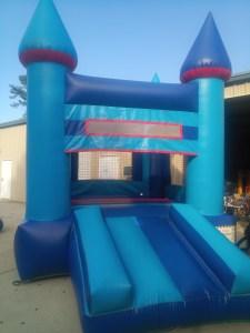 5Blue Sky moonwalk bounce house combo