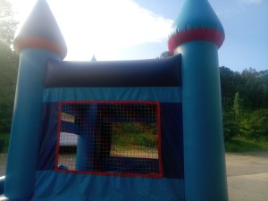 15Blue Sky bounce house combo moonwalk