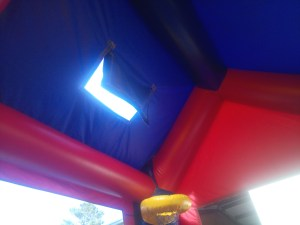 3Candyland bounce house moonwalk