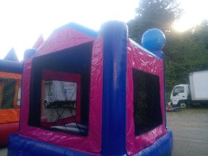 2Frozen Bounce House moonwalk back