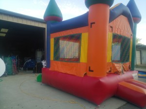 3Silly Willy bounce house moonwalk