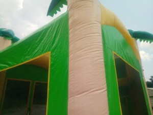 1Tropical Island bounce house combo