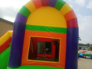 7Over the Rainbow bounce house combo