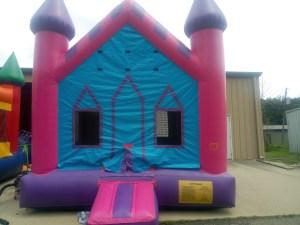 7Princess Castle bounce house moonwalk